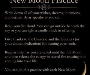 full moon, magical, and magick image