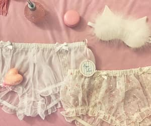 girly, lingerie, and nymphet image