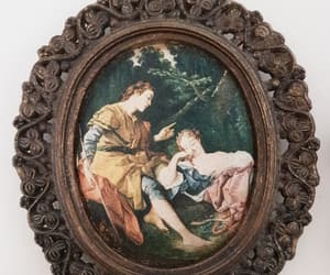 antique, art, and frame image