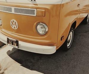 car, vintage, and van image