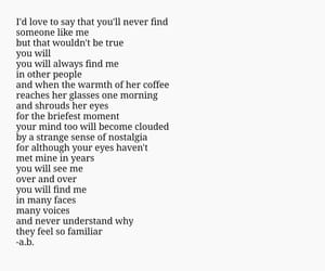 aesthetic, deep, and love poem image