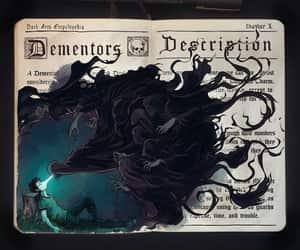 harry potter, dementors, and dementor image