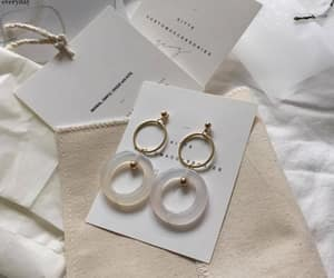 minimalist, aesthetic, and earrings image
