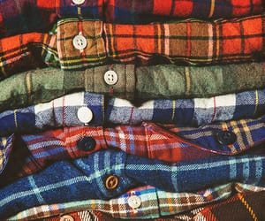 flannel, autumn, and clothes image