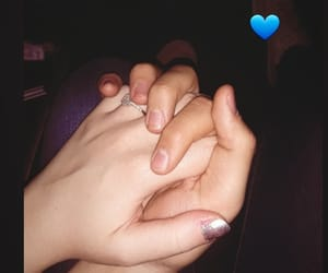 blue, boyfriend, and forever image