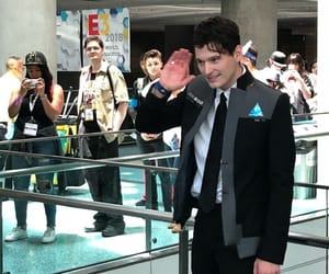 Connor, bryan dechart, and detroit become human image