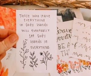 flower, frase, and god image