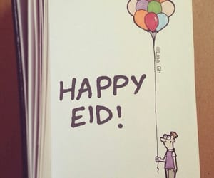 eid, happy eid, and islam image