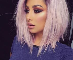 eyes, hairstyle, and hair image