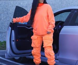 fashion, kim kardashian, and orange image