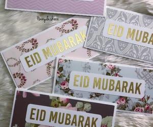 happy eid, mubarak, and عيد مبارك image