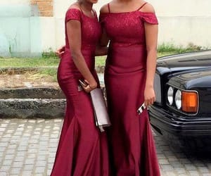 african fashion, prom dress, and evening dress image