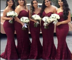 evening dress, formal dress, and wedding party dress image