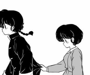 couples, manga, and ranma image