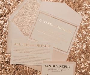 ideas, invitation, and wedding image