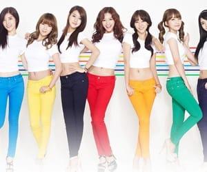 rainbow, woori, and hyoyoung image
