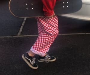 red and skate image
