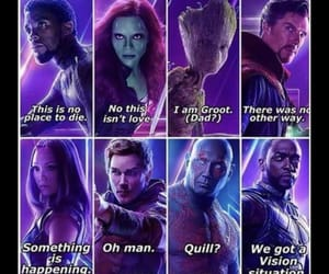 Avengers, death, and last words image