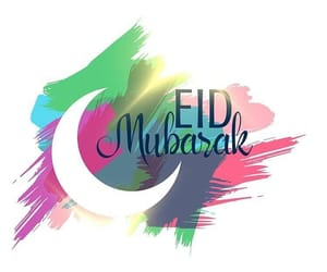 eid, eid mubarak, and happy image