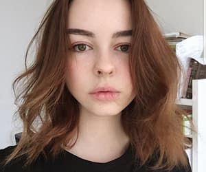 cut hair, face, and lips image