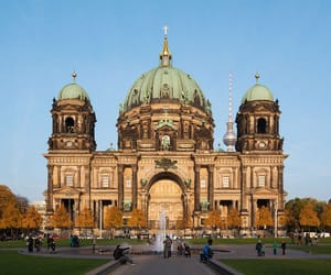 berlin, travel, and cathedral image