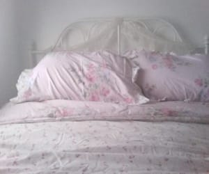 cute, bed, and pastel image