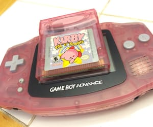 aesthetic, gameboy, and kirby image
