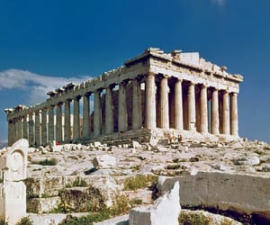 architechture, Athens, and mythology image