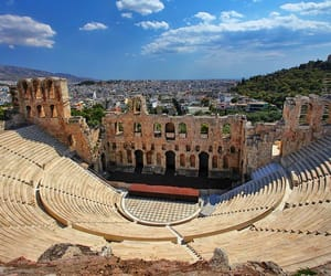 architecture, greek, and Athens image