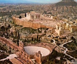 ancient, Athens, and mythology image