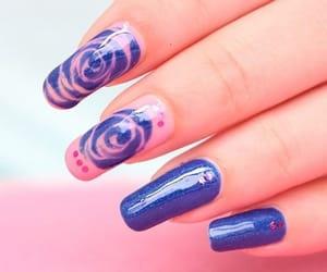 nails, prettynails, and nailart image