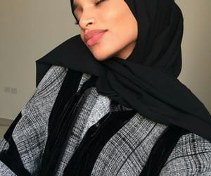 beauty, muslim, and pretty girl image
