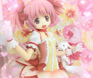 magical girls, anime figure, and madoka magica image