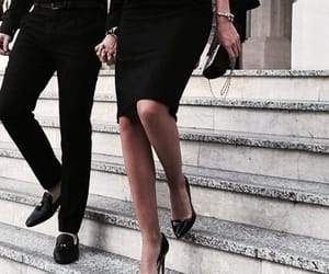 couple, black, and classy image