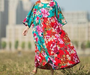 maxi dress, maternity dress, and dresses summer image
