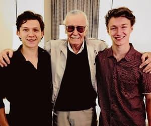 tom holland, stan lee, and Marvel image