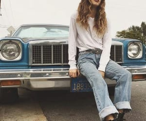hair, inspiration, and jeans image