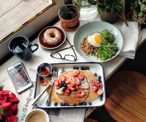awesome, breakfast, and coffee image