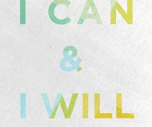 quote, i can, and will image