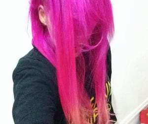 colorful, hairstyle, and sunset image