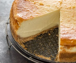 food, cheesecake, and delicious image