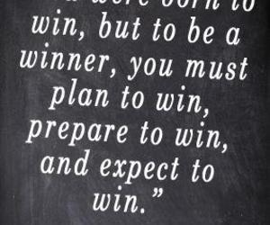 quote, winner, and life image