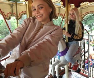 beautiful, girl, and lily rose depp image