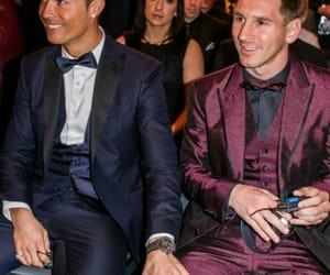 messi, Ronaldo, and football image