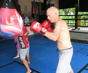 boxing, combat 360x, and kickboxing image