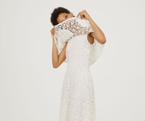H&M, wedding, and lace image