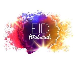 eid mubarak, happy, and islam image