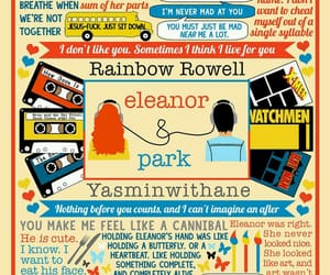 book, rainbow rowell, and eleanor & park image