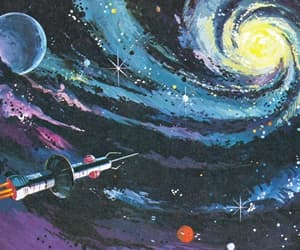 wallpaper, space, and art image