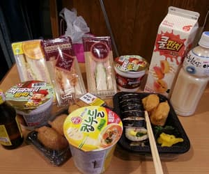 food, korean, and snacks image